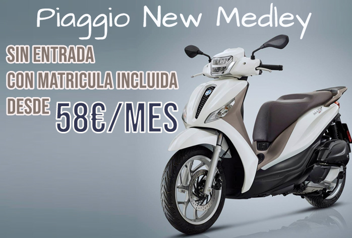 PIAGGIO MEDLEY 2020 NUEVO